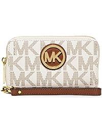 MICHAEL Michael Kors Fulton Large Smartphone Wristlet Vanilla