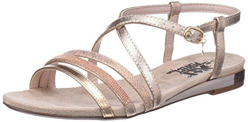 XTI 47751, Sandali con Cinturino alla Caviglia Donna, Rosa (Nude), 36 EU