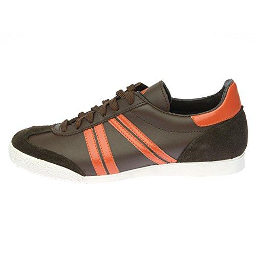 Germina Classics , Baskets pour homme Marron Braun(brown, orange) Braun(brown, orange)