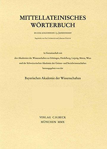 Mittellateinisches Wörterbuch  30. Lieferung (dissertatio - dominium)
