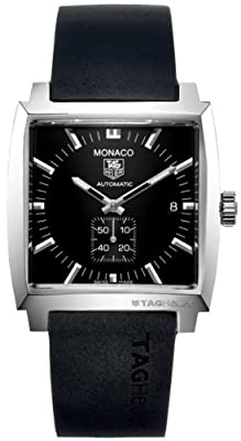 TAG Heuer WW2110.FT6005 caucho, color negro