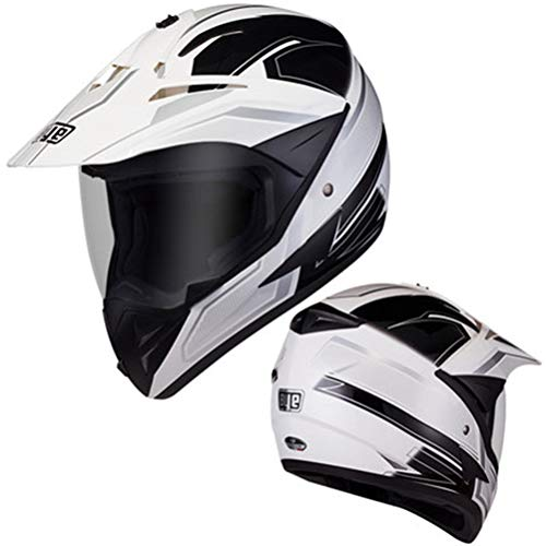 Adulto Cara Completa Cascos de Motocross ventilación Confort al Aire Libre Casco...