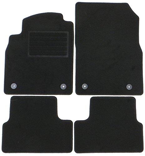 Preisvergleich Produktbild TN-Profimatten Opel Astra J Baujahr 2009-2015 Fussmatten - Autoteppiche Original Passform osru