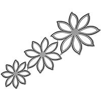 DIY Roqueles para Álbumes de Recortes, DIPOLA Scrapbooking Cortar Plantillas Troquelado Kit, aplicar para