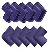 N/A - Set di mobili da Tavolo e da Ufficio, con Coperchio, Protezione Angoli, Protezione per Angoli, Colore: Viola