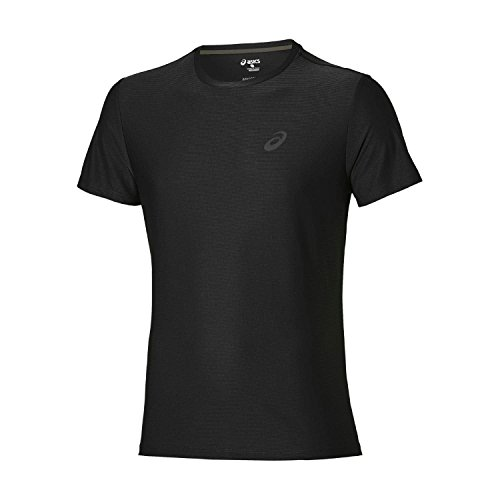 Asics Ss Top, T-Shirt Uomo nero (performance black)