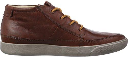 ECCO Gary Cognac Wrangler, Sneaker a Collo Alto Uomo Marrone (Braun (CognacWrangler01053))