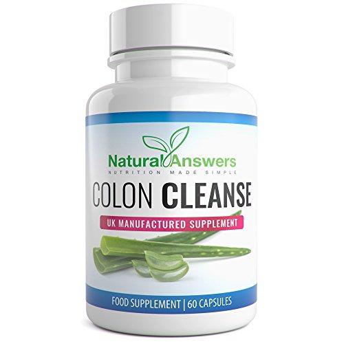 Bioslim Cleanse Aloe Vera Colon Cleanse 60 Capsules 1 Month Detox