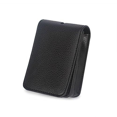 Caison Cuoio Sintetico Portable Digital Compact Camera Bag Custodia Per