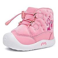 BMCiTYBM Toddler Snow Boot Baby Girl Baby Boy Winter Waterproof Outdoor Infant ShoesM18FW012-pink-135