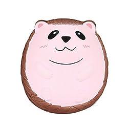 Tireow_kinder Spielzeug Geschenk Langsam Steigenden Squeeze Strap Kawaii Karikatur-igel Creme Duftenden Squishy
