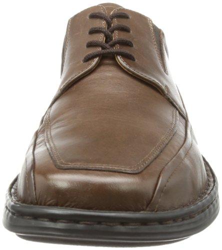 Josef Seibel Schuhfabrik GmbH 38266 23 330 Brian, Chaussures à lacets homme Marron - Brown - Braun (moro 330)