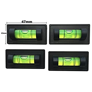 4 x Magnetic Magnet Bubble Spirit Level for Professional Measuring Normal Usage-Excellent for Mounting TV-Pictures-Electrical Sockets