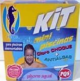 kit mini piscinas cloro+antialgas pqs