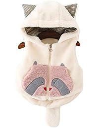 Oyfel Sin Mangas Abrigo Chaqueta Parka Resolve Jacket Casaca China Chica Invierno Nieve Polar Otono Rebajas Orejas Nino Nina 100 cm