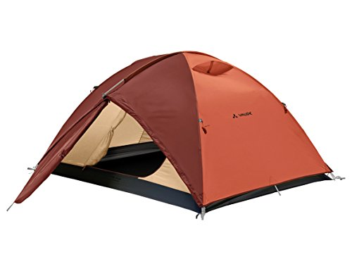 VAUDE Campo Grande 3-4P Tenda a Cupola per Campeggio e Trekking, Unisex...