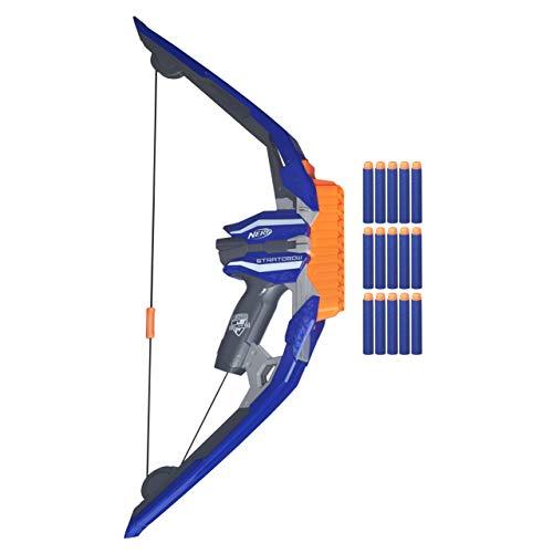 Nerf - Arco lanzadardos Elite Stratobow (Hasbro...