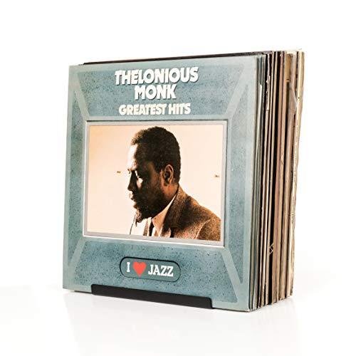 Audivisions Schallplatten Aufbewahrung 'Favourites' - Wandmontierter Premium-Schallplattenhalter und -display für bis zu 25 Alben mit 30cm-LPs