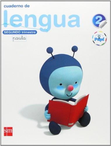 Conecta con Pupi, lengua, 2 Educación Primaria. 2 trimestre. Cuaderno (pauta)