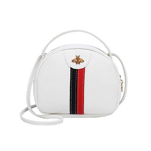 Damen Runde Tasche, PU Schultertasche Mit Kleiner Kapazität