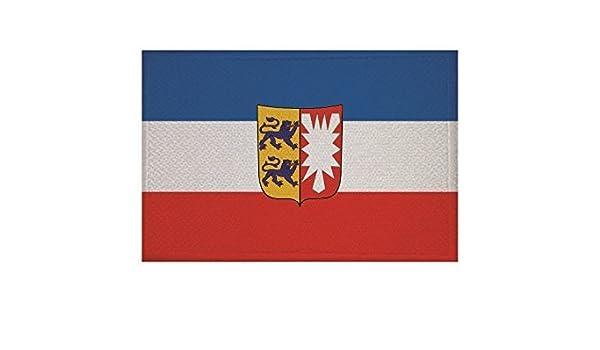 Aufnäher Schwerter zu Pflugscharen Fahne Flagge Aufbügler Patch 9 x 6 cm