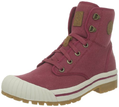 Aigle Khali Mid W P5708_Rouge (Burgundy) - Zapatos de tela para hombre, color rojo, talla 35