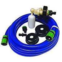 Mains Water Adaptor For A Aquaroll float system - A Universal Water Adaptor Kit Fits - Aquaroll-Aqua Caddy-Aquarius-Roly Poly & Water Hog Systems- 7.5 Meteres Of Hose Comes With All The Fittings - Free UK Shipping. 30