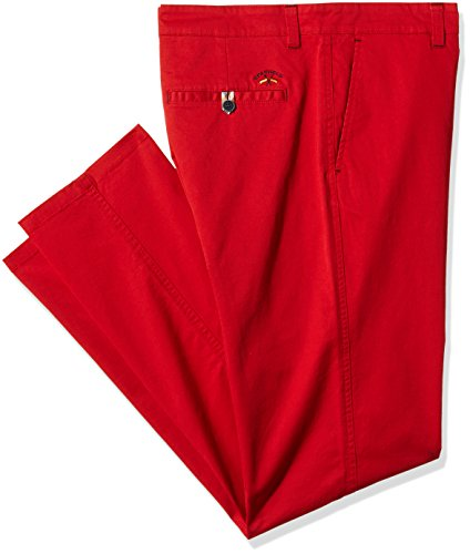 SPAGNOLO Gab. Elast. Chino Regular 0777, Pantalon Homme Rouge