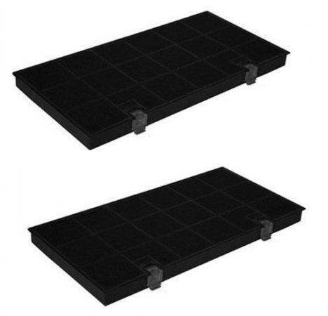 2x Filtro de carbón activo para Bauknecht Aroma filtro DKF24/Typ150/KF80–AEG, Juno, Electrolux,...