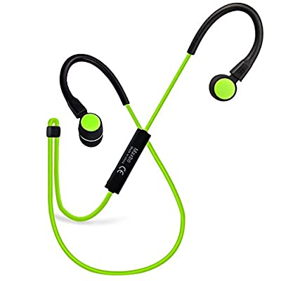 Maxbo Sport Wireless Noise Canceling Bluetooth V4.1 Stereo Running Headset for Sumsung Galaxy/iPhone/Sony/LG and Other Bluetooth Devices