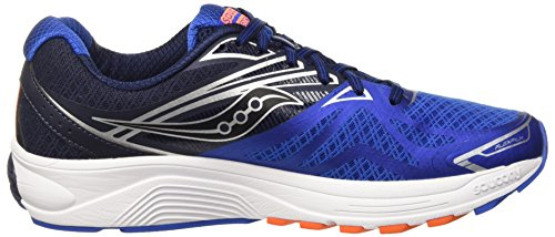 Saucony Ride 9, Entraînement de course homme Multicolore - Multicolore (Grey/Blue/Orange)