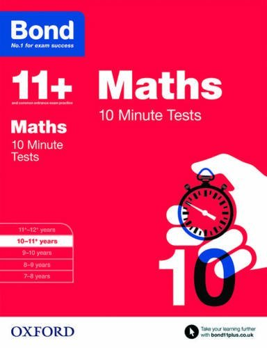 Bond 11+: Maths 10 Minute Tests: 10-11+ years by Andrew Baines (2015-03-05)
