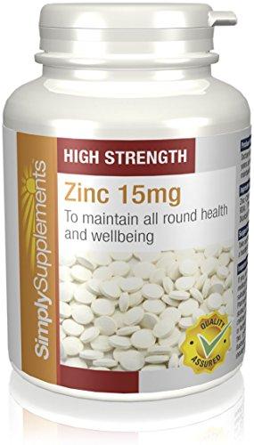 Zinco 15mg|Aiuta il Sistema Immunitario , il Benessere della Pelle