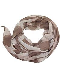 Prinidor Seidenschal SEIDE Schal*Tuch Cotton mit Kreisen Frühjahr
