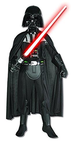 Rubie's Star Wars Deluxe Darth Vader Kostüm für Kinder inkl. Maske, - Rubie S Kostüm Darth Vader