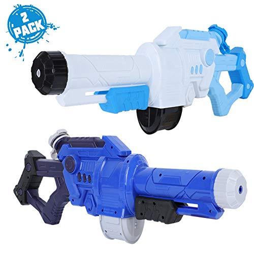 Rclhh Wasserpistolen Kinder, 2 Stück Squirt Guns Wasserspielzeug für 4.5.6.7 Jahre alte Kinder Jungen Mädchen Erwachsene, Pools Party Water Fight,C