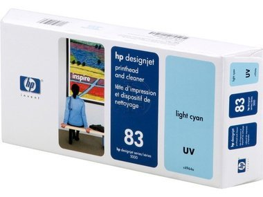 HP - Hewlett Packard DesignJet 5500 UV 60 Inch (83 / C 4964 A) - original - Druckkopf cyan light - 13ml -