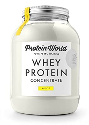 Protein World 100% whey protein concentrate shake Vanilla Flavour 1.1kg from Protein World