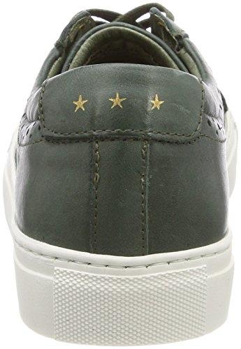 Pantofola d'Oro Damen Napoli Donne Low Sneaker Grün (Olive)