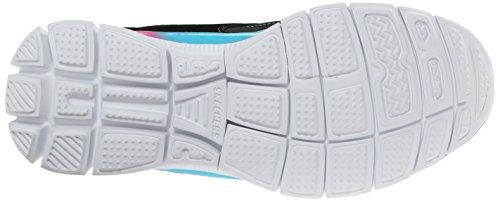 Skechers Appeal Align II, Chaussures de sports en salle fille Noir (Bkmt)
