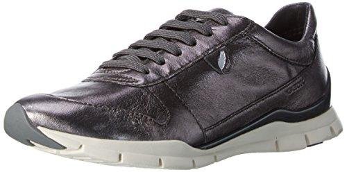 Geox Damen D Sukie A Sneakers Grau (Gunc1357) 38 EU Geox Trainer