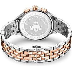 THOMAS SABO Horloge WA0347-277-201-38 mm
