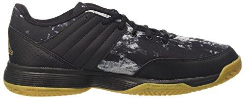 adidas Herren Ligra 5 Volleyballschuhe Mehrfarbig (Core Black/gold Met./ftwr White)