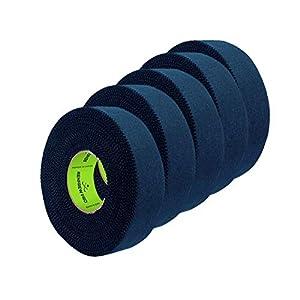 5X Renfrew Schlägertape Pro Balde Cloth Tape schwarz 24mm f. Eishockey 25m