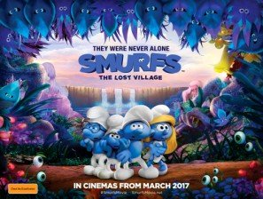 smurfs-the-lost-village-australian-movie-wall-poster-print-30cm-x-43cm-brand-new