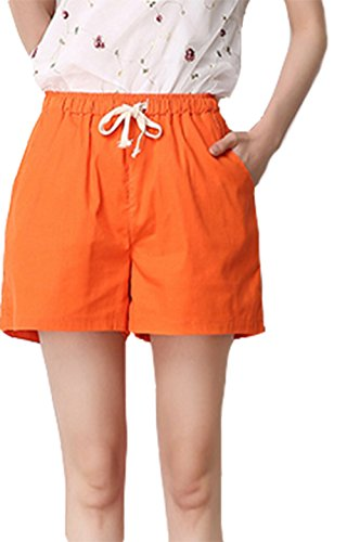 YAN Damen Short Orange