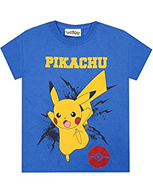 Pokèmon Pikachu Bolt Boy's T-Shirt de Fashion UK