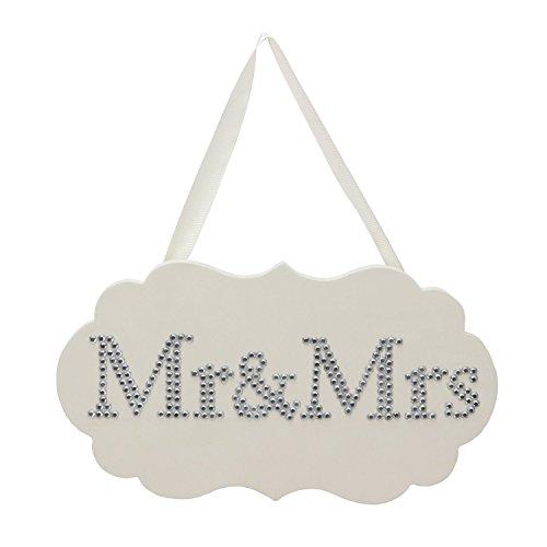 Amore MDF Plaque de cristaux 28cm x 16cm - M. et Mme