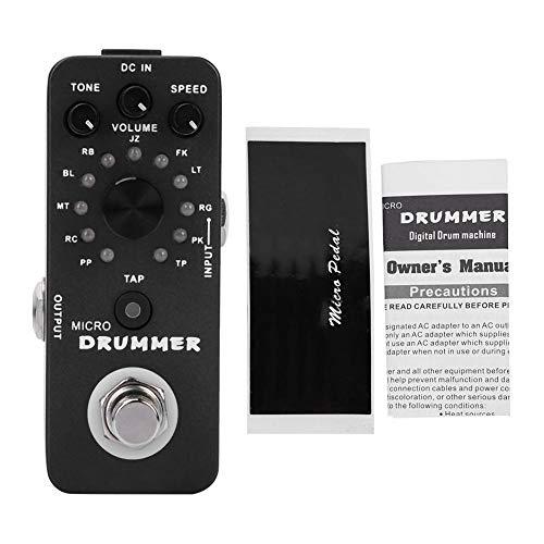 Micro Drummer Digital Floor Drum Effektpedal -