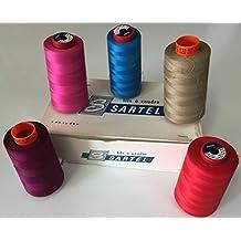 Hilos a coser, hilos bordado, piqueuse, confection, overlock,